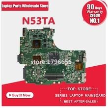 N53TA материнской HD6380G REV 2,0 для ASUS N53T N53TA N53TK Материнская плата ноутбука N53TA плата N53TA материнской Тесты 100% OK