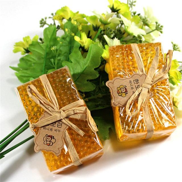 100g Honey Kojic Acid Soap Handmade Whitening Soap Face Care Replenishing Natural Bath Body Skin Care Deep Cleaning Arbutin Soap 4