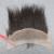 7A Mejor Yaki Encaje Frontal Cierre 13x4 Brasileño Rizado Frontal Del Cordón Recto Nudos Blanqueados, Rizado Virginal Humano recta Frontal
