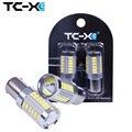 TC-X 2 шт. 1156 21/33 Светодиодов 5730 SMD с Len 12 В BA15S Высокая Мощность Автомобиля Стоп-Сигналы Обратной Лампы Поворота Фары автомобиль для укладки