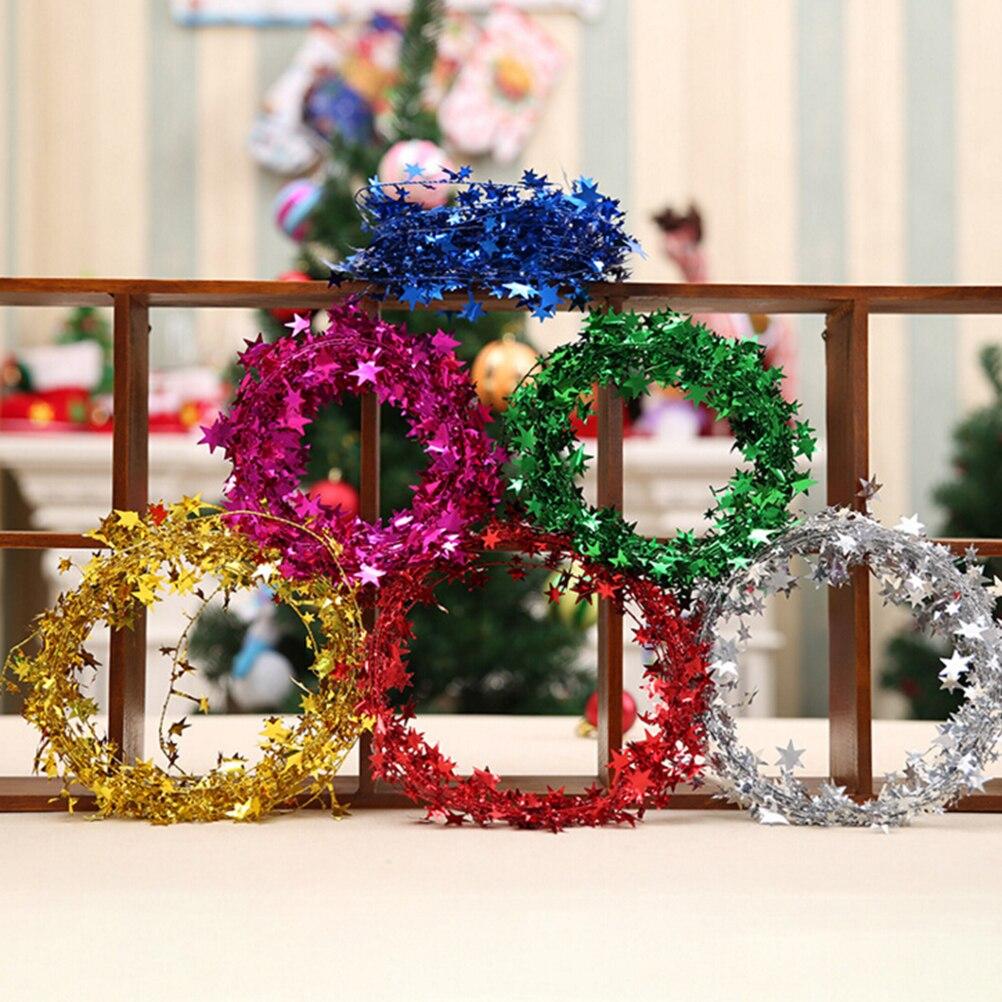 cm simple y prctico de navidad colgante estrella colgante artesanal de rayas oscilacin