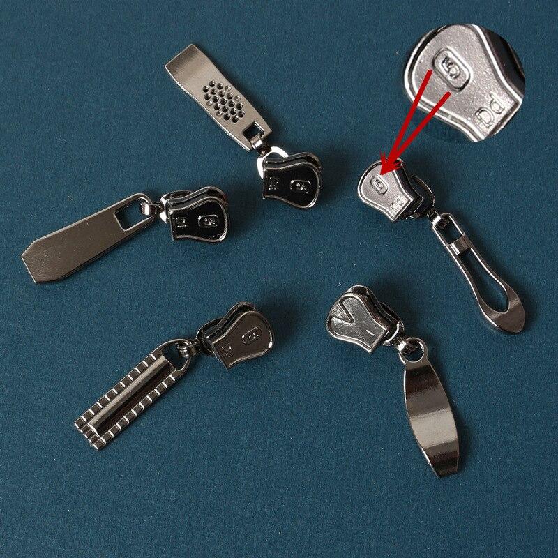 5pcs 5 zipper slider zipper head for palstic resin zipper tailor repair sewing diy zippers in Zipper Sliders from Home Garden