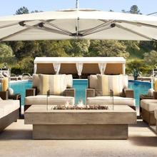 Все погодные б/у Патио Сад уличный диван из ротанга набор конструкций клубный стул диван для влюбленных