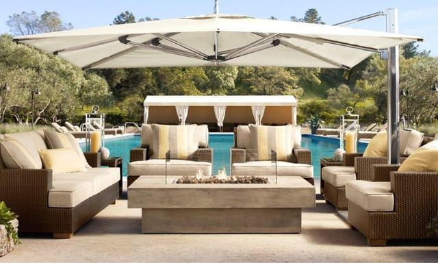 Novedad todo el tiempo utilizado patio descuento exterior ratán sofá muebles