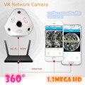 Câmera IP WI-FI 360 Fisheye Panorâmica Câmera Dome 1.3MP 960 P ONVIF CCTV Night Vision Video Surveillance Segurança v380