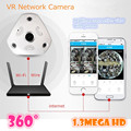 WIFI IP Camera 360 Fisheye Panoramic Dome Camera 1.3MP 960P ONVIF CCTV Night Vision Video Surveillance Security v380