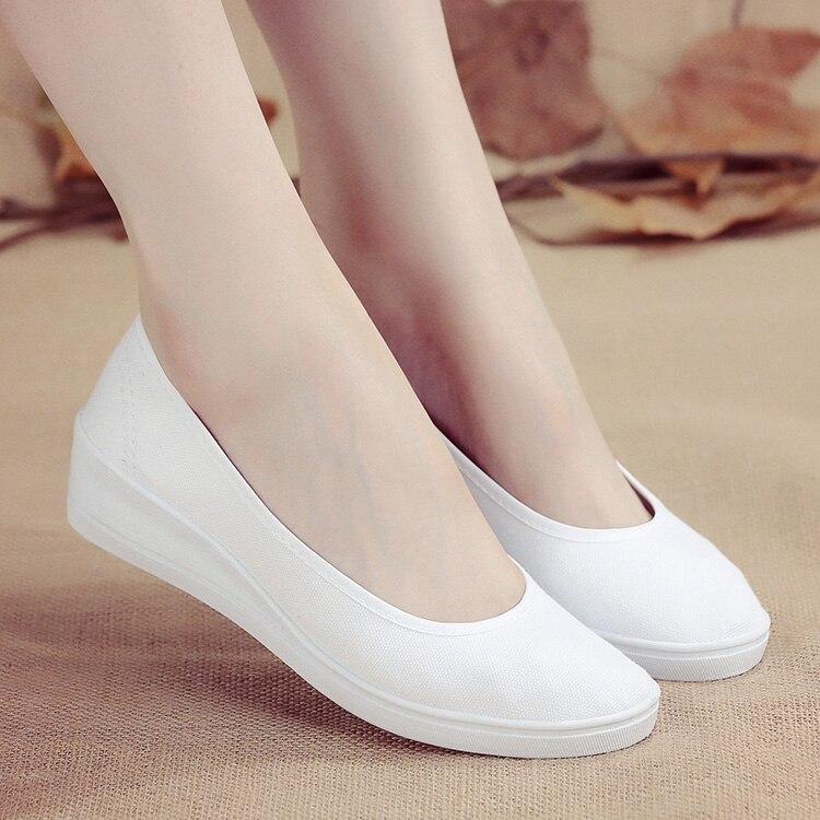 2018 Fashion New Womens Flats Casual Shoes Summer White Lady aa0734 цена и фото