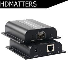 LKV383 HDbitT HDMI удлинитель ИК через роутеры cat6/7 кабель до 120 м(только отправитель или приемник) поддерживает 1 TX к N RX