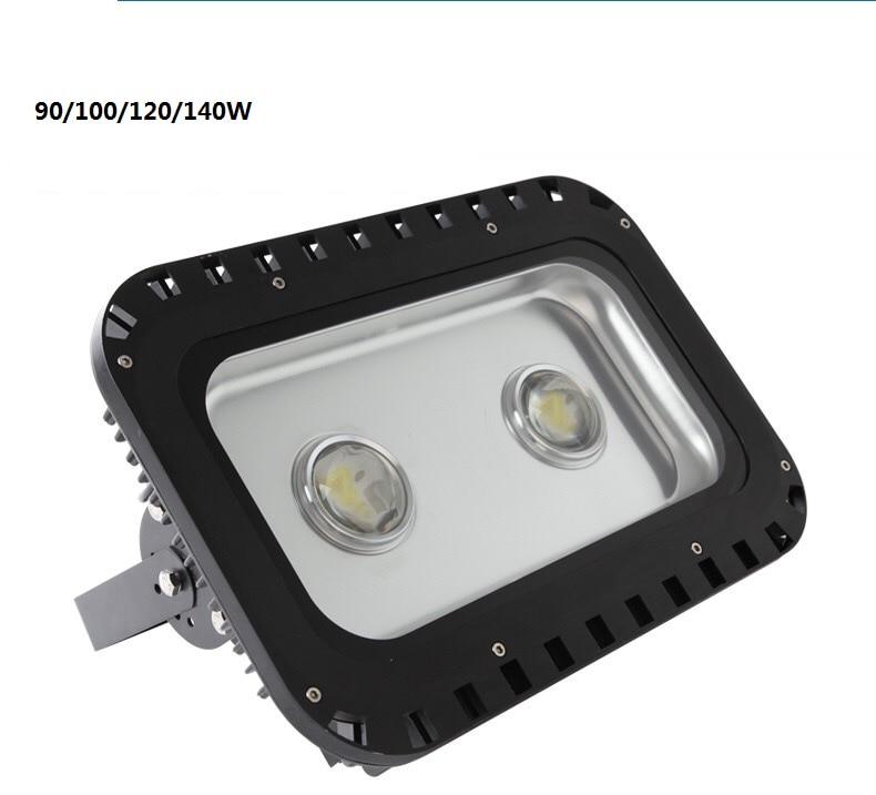 Free Shipping Ip65 80/100/120/140w 90/120/150w 200/240w 110/220vac 115-125lm/w Bridgelux ...