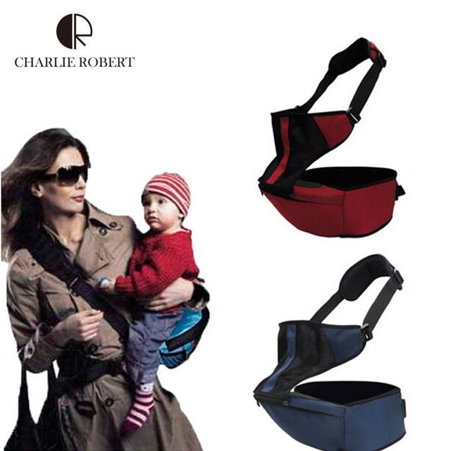 2 in 1 Baby Carrier Adjustable Infant Sling Hipseat Newborn Kid Wrap Breathable Backpack Ergonomic Carrier 360 Canguru HK373