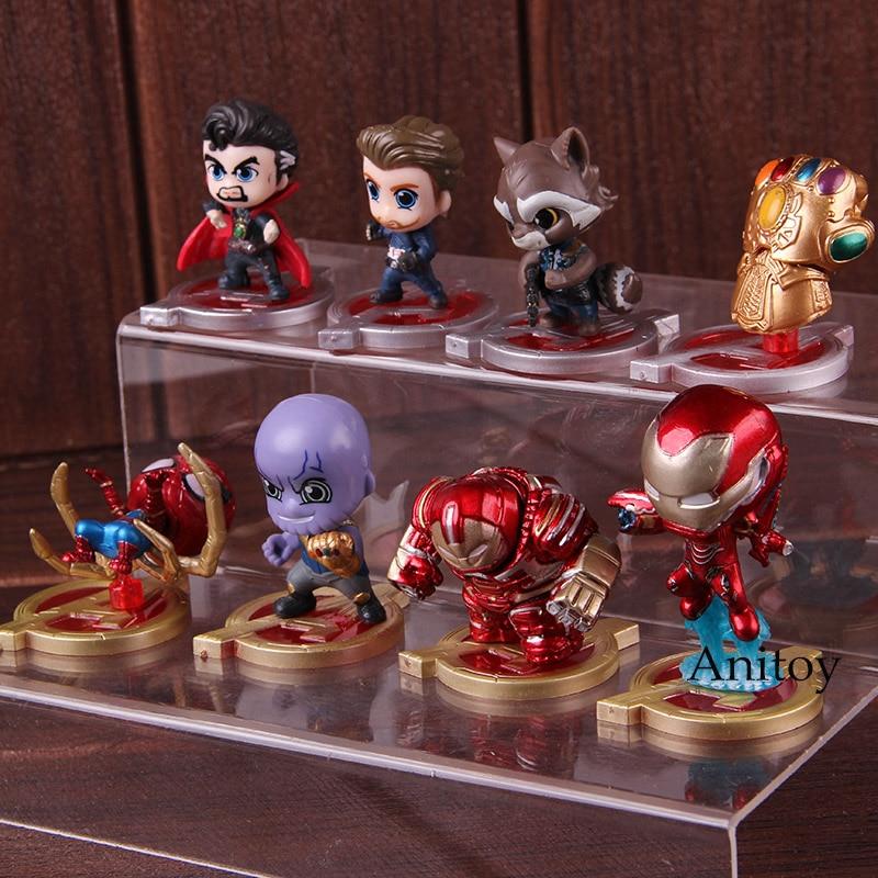 figura ação brinquedos 8 pçs set