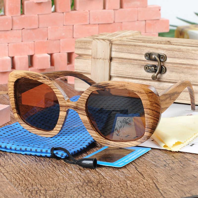 BOBO BIRD Sunglasses Women Polarized Vintage UV Protection Eyewear Men Sun Glasses in Bamboo Gift Box oculos de sol feminino