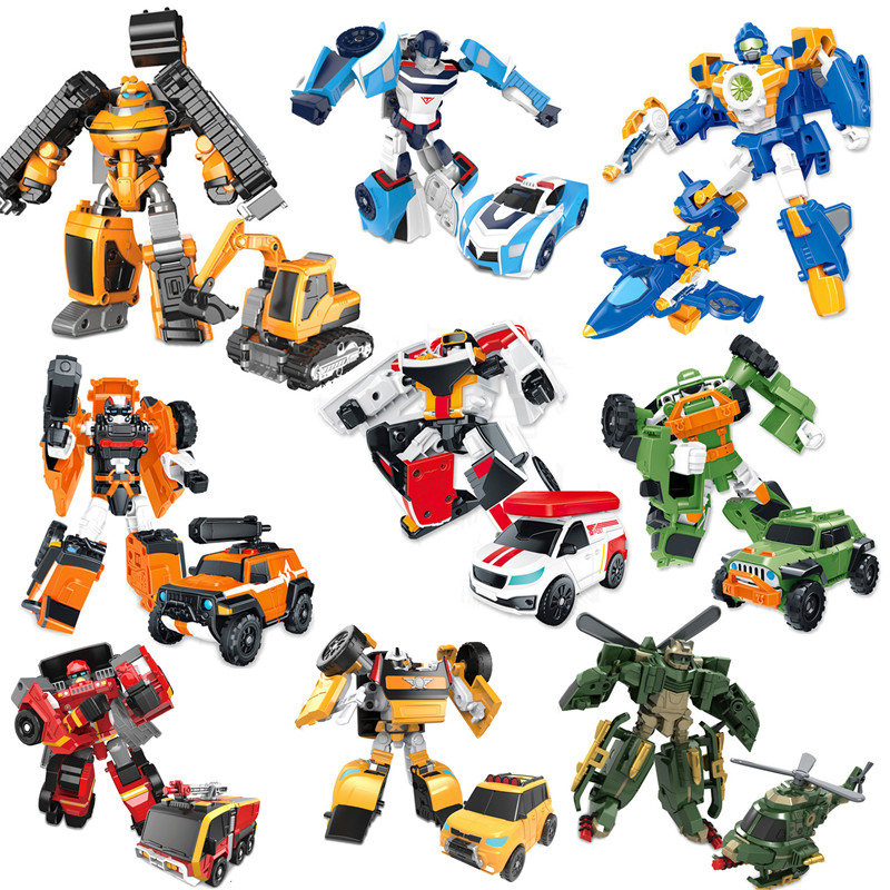 10 Style Tobot 2 Generation Transformation Mobilization Toy Deformation Car Tobot Robot Kids Toys Model For Kid Gift