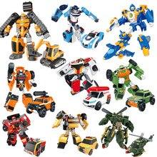 10 Style Tobot 2 Generation Transformation Mobilization Toy Deformation Car Robot Kids Toys Model For Kid Gift