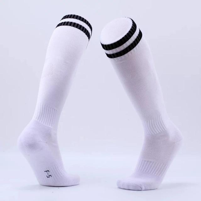 Adult Men Women Child Football towel Socks Boys Soccer Baseball Sock Kids  Youth Above Knee Long Stockings Cotton Thicken Socks