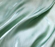 Green crystal silk pearl satin polyester fabric for dress textiles handmade patch Party Jacquard thick tissu sequin A361