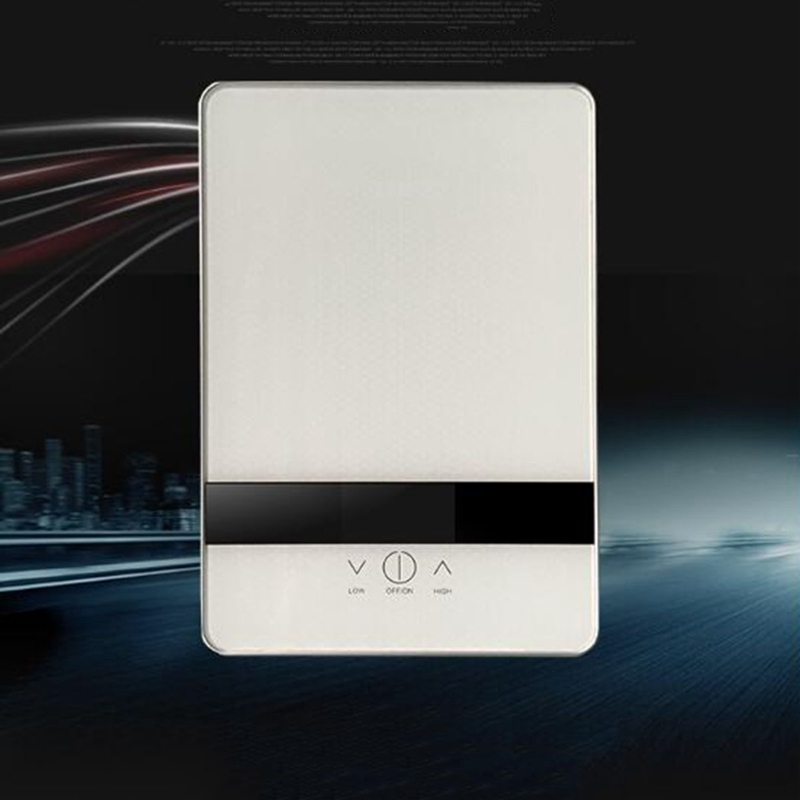 6500W Instantaneous Water Heaters Shower Digital Display Wall Mounted Smart Touch Leakproof Electric Function Kitchen 220V