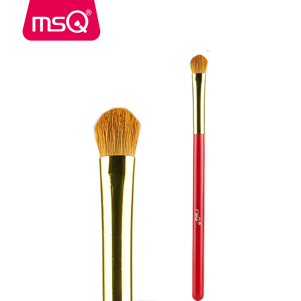 MSQ High Quality Eyeshadow Blending Makeup Brush Horse Hair With Painted Wooden Handle For Fashion Beauty Make Up Brush пылесборник для сухой уборки euro clean e 07