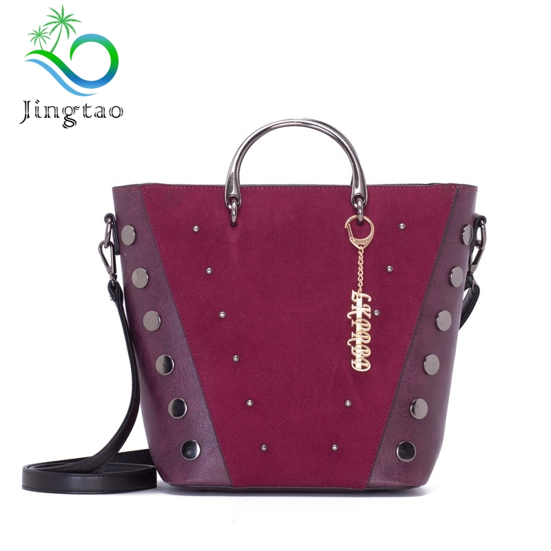jingtao New pattern Superior quality brand FASHION With Luxury Handbags Women Designer High Leather Single shoulder slant ba