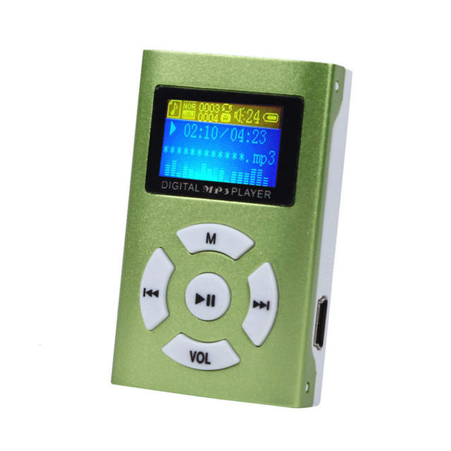 7bff52d51e7 CUJMH USB Mini MP3 Player LCD Screen Support 32GB Micro SD TF Card Slick  stylish design Sport Compact not FM-in HiFi Players from Consumer  Electronics on ...