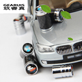 Car styling 1 set Stainless steel Valve nozzle cap cover trim Car accessories 3D stickers For BMW X1/X3X4X5/X6 1/2/3/5/7 Series