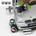 Estilo do carro 1 conjunto de aço Inoxidável bico Válvula cap tampa guarnição acessórios Do Carro 3D adesivos Para BMW X1/X3X4X5/X6 1/2/3/5/7 Série