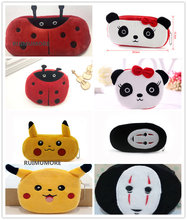 Kawaii Multi Designs, Sizes Choice , Cartoon 6-23CM Approx. Panda Cat Etc, Stuffed Animal Plush Toy BAG Key chain Plush Toys(China)
