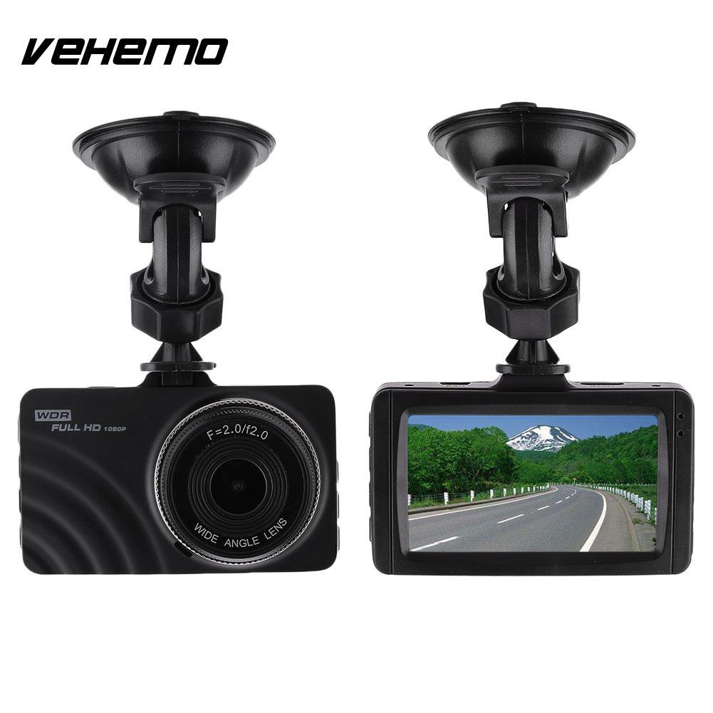 3 Inch Car Camera Dash Cam 2MP 1080P 120 Degree Wide Angle Night Vision