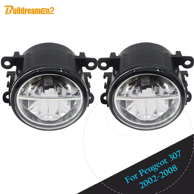 Buildreamen2 For Peugeot 307 2002 2003 2004 2005 2006 2007 2008 Car LED font b Lamp