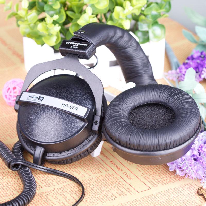 HD660 dinámica cerrado auriculares HIFI estéreo estudio profesional DJ control auriculares con aislamiento de ruido auriculares hd681 evo