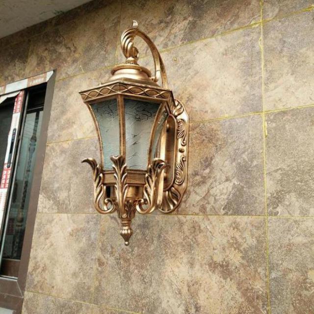 Porch Industrial Waterproof Wall Lamp Courtyard Wall Light Door Corridor Lights Park Hotel Outdoor Lighting Led garden lights