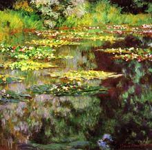Claude Monet Gedruckt schöne blume in Fluss Malerei Leinwand Kunst Bild startseite Decoracion oder schlafzimmer Gemälde Ungerahmt