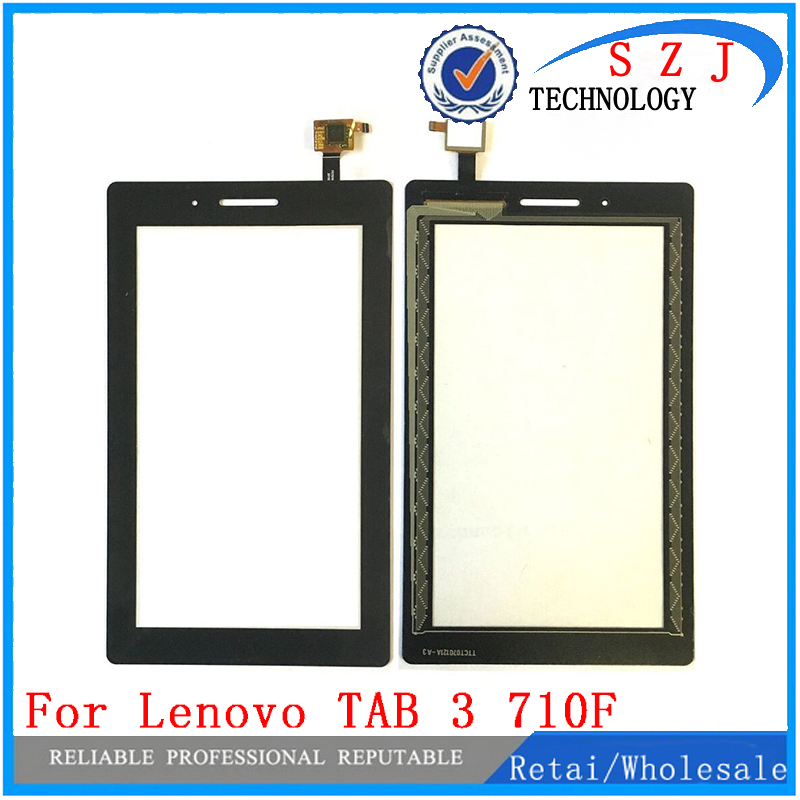 New 7'' inch case For Lenovo TAB 3 Essential 710F Tab3 TB3-710F TAB3-710F Touch Screen Digitizer LCD display Sensor Replacement 7 for lenovo tab 3 7 0 710 essential tab3 710f lcd display with touch screen digitizer assembly free shipping