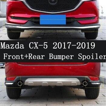 JIOYNG ABS Vernice Auto Anteriore Paraurti Posteriore Spoiler, auto Car Bumper Diffusore 3 pz/set Per Mazda CX-5 cx-5 2017 2018 2019