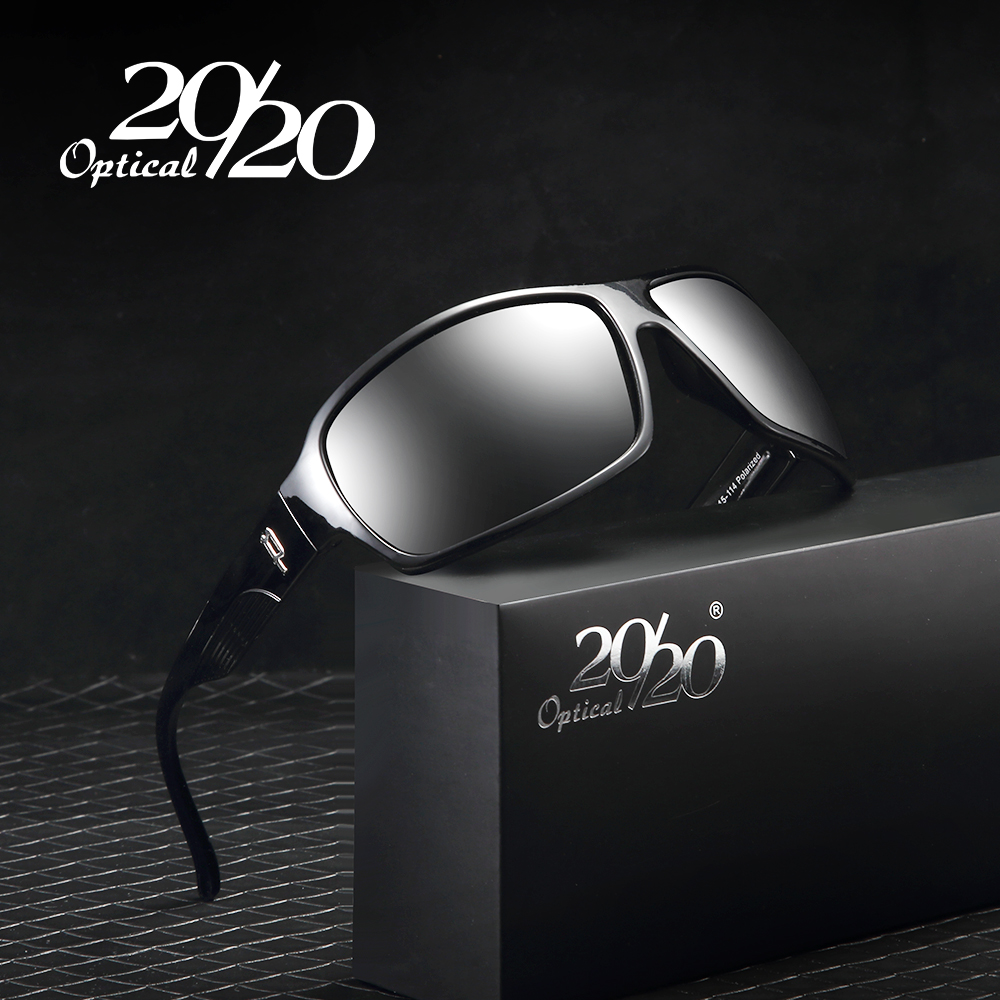 20/20 Brand Classic Sunglasses Men Polarized Glasses Driving Luxury Metal accessories Sun Glasses for Men Oculos Gafas PL73