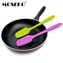 MOSEKO 1 шт. силиконовая лопатка-скребок для выпечки торта Крем Масло скребок для смешивания теста формы для выпечки Кухонные аксессуары инструменты для приготовления пищи