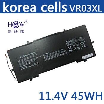 HSW แบตเตอรี่แล็ปท็อปใหม่ VR03XL แบตเตอรี่ HSTNN-IB7E TPN-C120 แบตเตอรี่แล็ปท็อปสำหรับ HP Pavilion 13-D ENVY 13 แบตเตอรี่สำห...