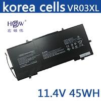 HSW new laptop battery VR03XL batteries HSTNN IB7E TPN C120 laptop battery for HP Pavilion 13 D ENVY 13 battery for laptop