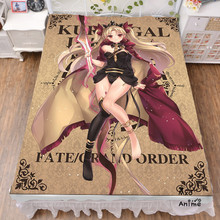 Japanese Anime Fate Grand Order Servant Bed sheets  Bedding Coverlet cartoon Flat Sheet cosplay drop shipping стоимость