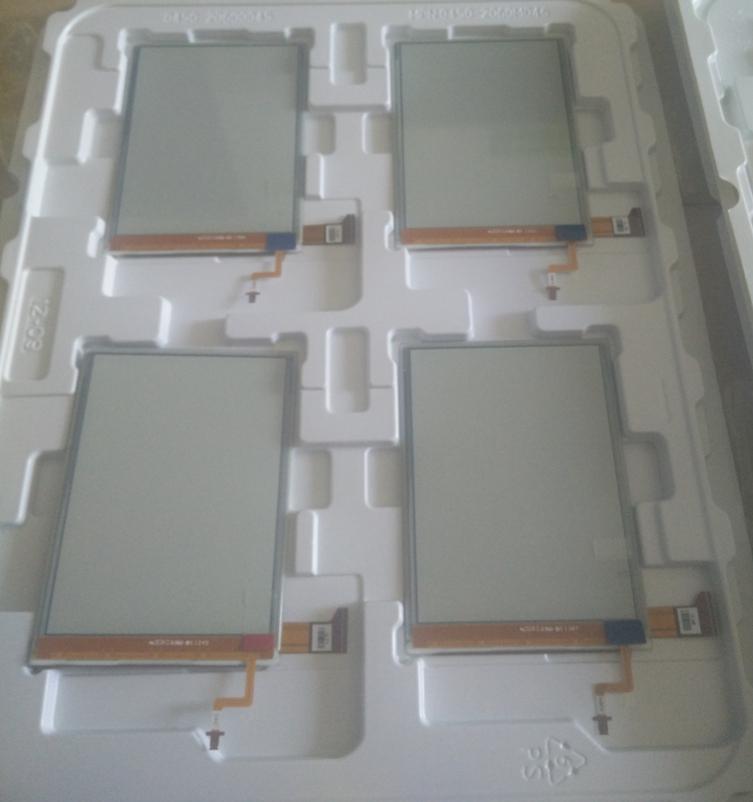 Prix pour Ed060xg1 6.0 pouces E-ink Écran En Verre Pour Onyx boox i62ml aurora Lecteur Ebook eReader LCD Panneau D'affichage de livraison gratuite