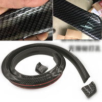 Car tail carbon fiber picture sports kit FOR solaris Skoda Rapid toyota rav4 kia k2 vw passat b6 lada kalina ssangyong