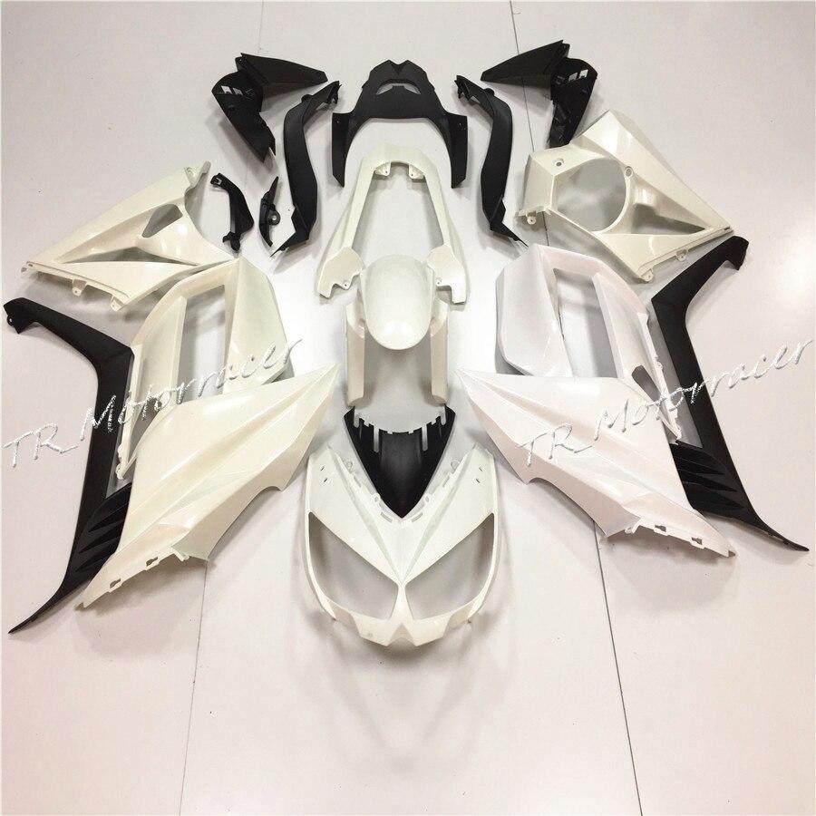 Для Кавасаки Z1000 2010 Белый Некрашеный Инъекции Обтекатель Кузова Молдинг Аксессуары Для Мотоциклов
