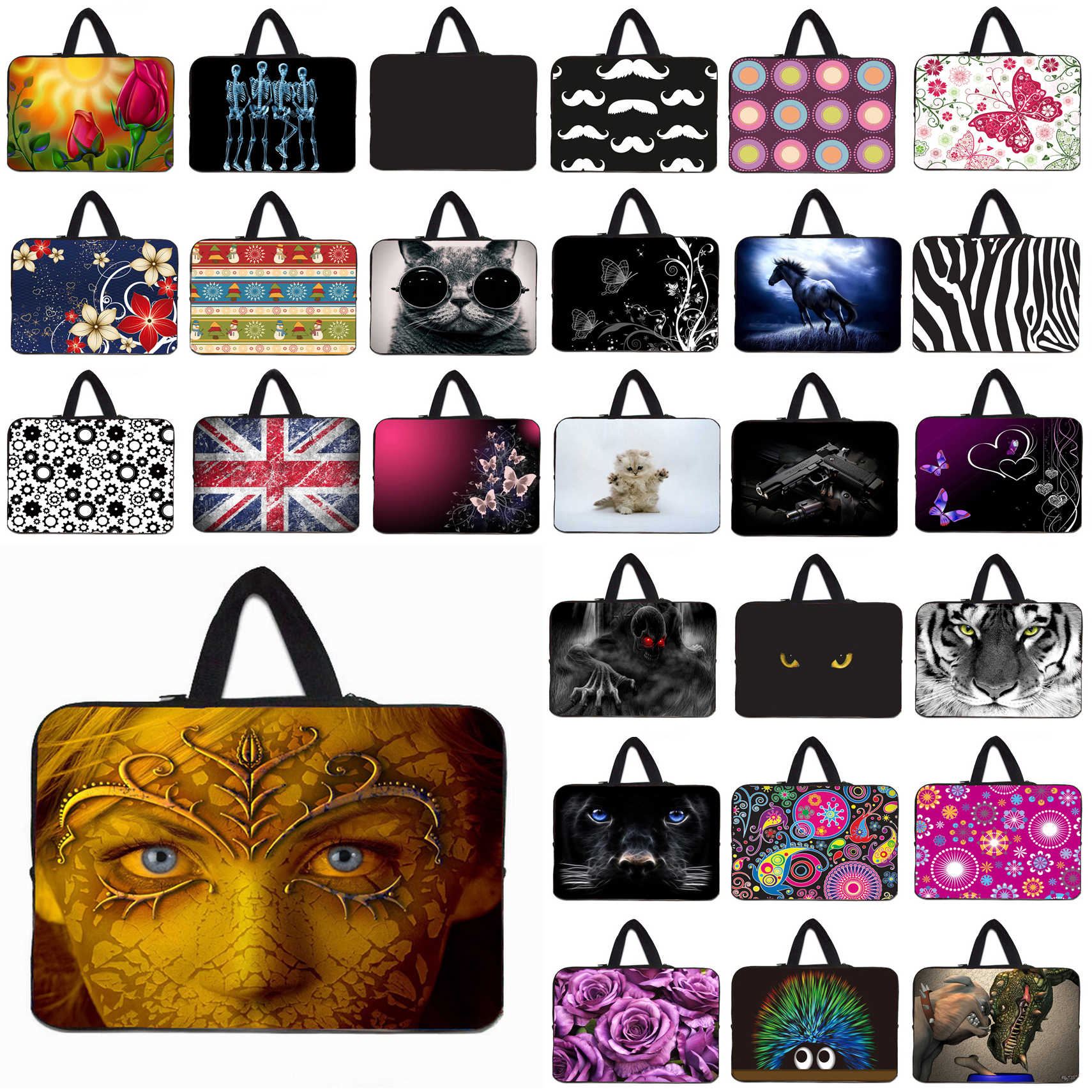 d2b493aac7 Notebook Shell Case Bags For Apple Chuwi Lenovo HP 9.7 10 12 13.3 14 15 15.6