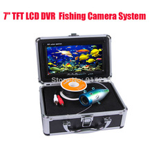 free shipping 7″ TFT LCD DVR Video Fish Finder System 1000TVL Underwater Camera 15M Version diving camera Father's Day Gift