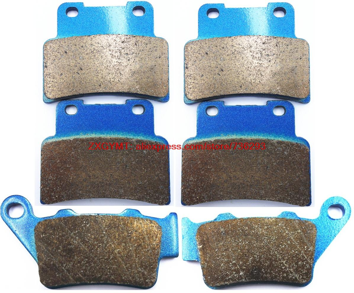ФОТО Sintered Motorcycle Brake Pads Set fit for APRILIA SL750 SL 750 Shiver GT , ABS 2009 & up