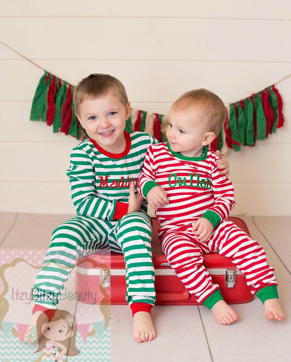 aliexpresscom buy monogram personalized pants set family christmas pajamas matching christmas outfits girls and boys pajamas toddler shirts from reliable - Christmas Pjs Toddler