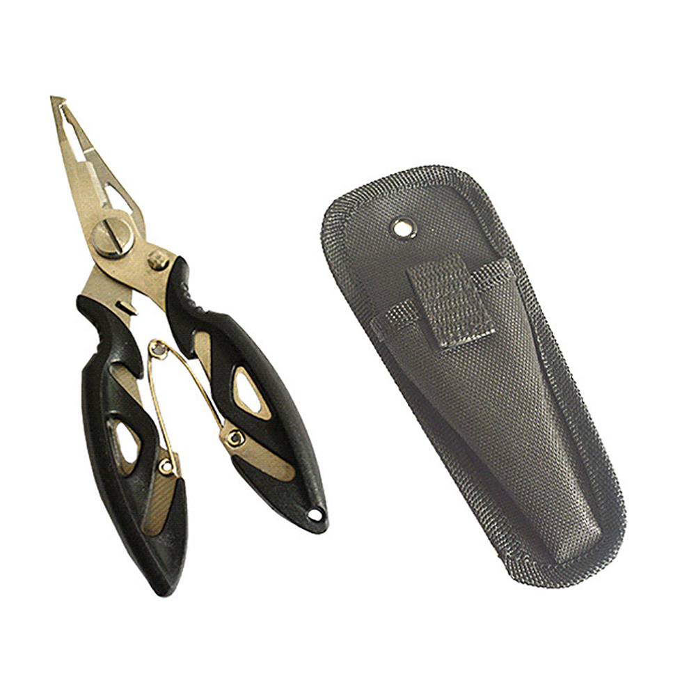 Stainless Steel Fishing Scissors Pliers Line Cutter Lure Bait Remove Hook Tackle Tool Kits Pesca Accessories Fishing Plier