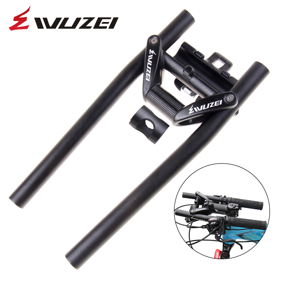 WUZEI ZDBH-001 Mountain bike folding handlebars Folding bicycle crossbars Bicycle spare parts hybrid bicycle