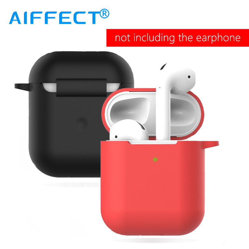 AIFFECT Bluetooth Case For Apple AirPods 2 Silicone Earphone Protective Cover Accessories Wireless Headphone Case Charging Box .