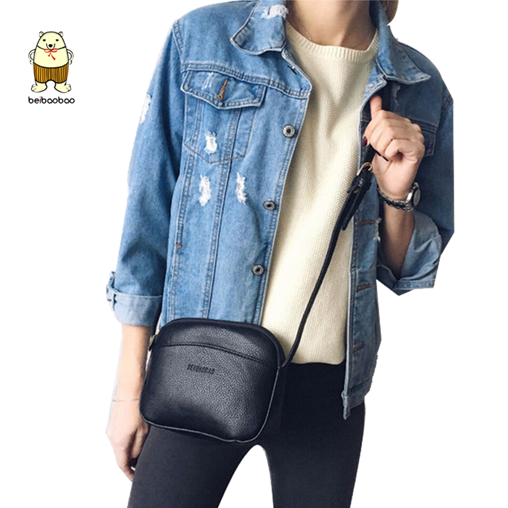 Beibaobao PU Women's Shoulder Bags Female Small Messenger Bag Lady Crossbody Bag Women Messenger Leather Bags Small Flap Purse